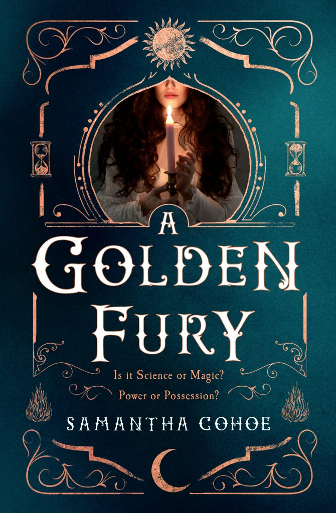 A Golden Fury by Samantha Cohoe book cover
