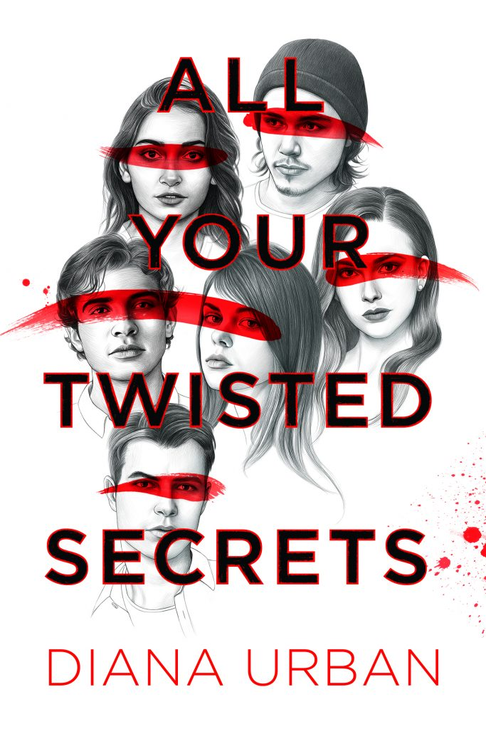 All Your Twisted Secrets by Diana Urban book cover
