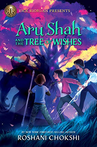 Aru Shah and the Tree of Wishes (Pandava Quartet #3) by Roshani Chokshi book cover