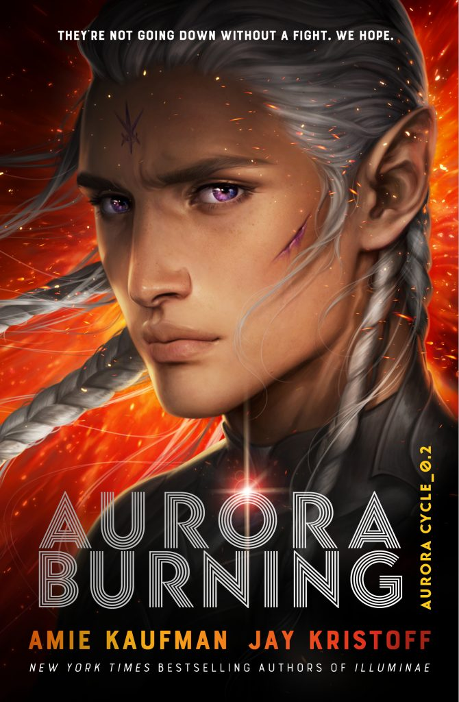 Aurora Burning (The Aurora Cycle #2) by Amie Kaufman and Jay Kristoff book cover