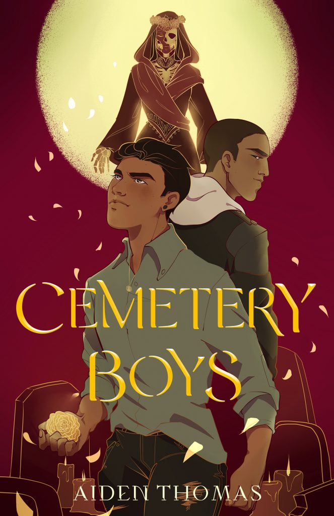 Cemetery Boys by Aiden Thomas book cover