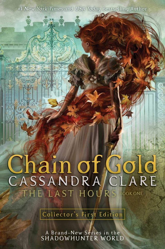 Chain of Gold (The Last Hours #1) by Cassandra Clare book cover
