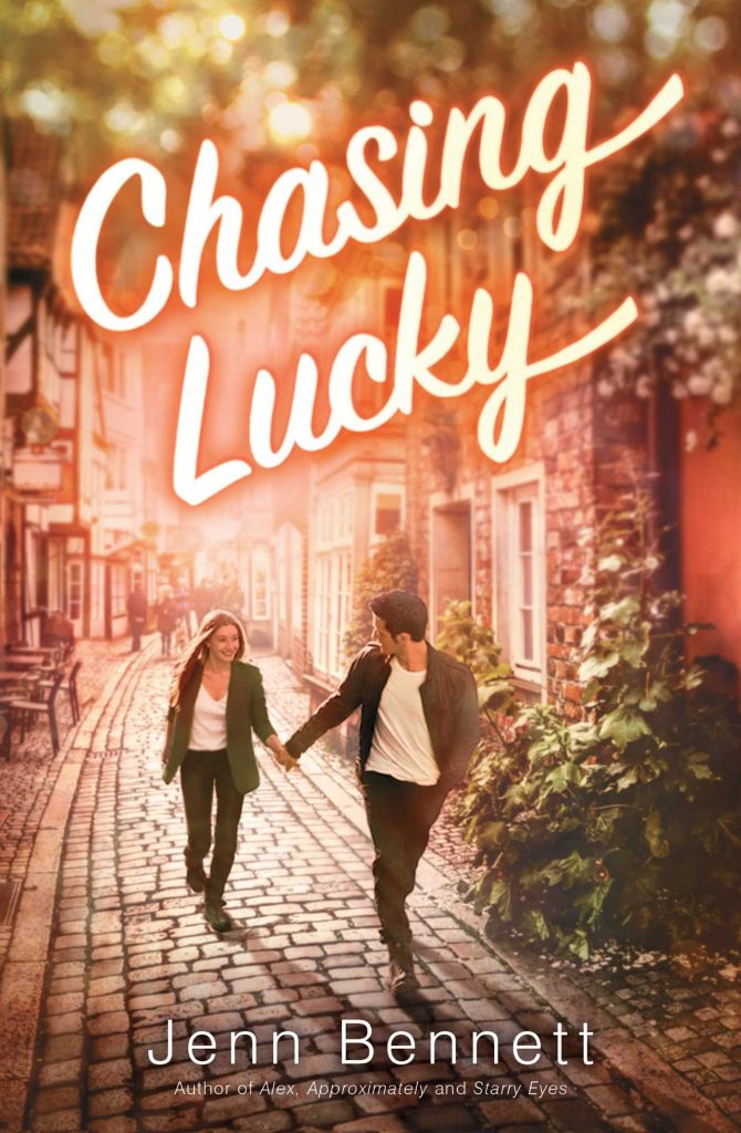 Chasing Lucky by Jenn Bennett book cover