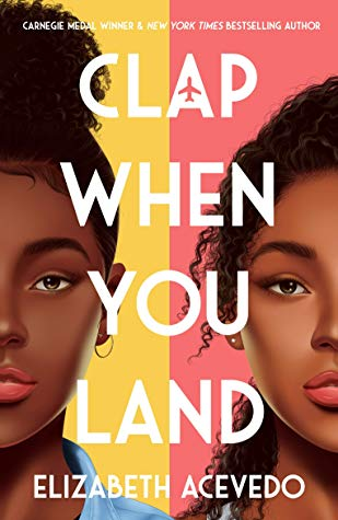 Clap When You Land by Elizabeth Acevedo book cover