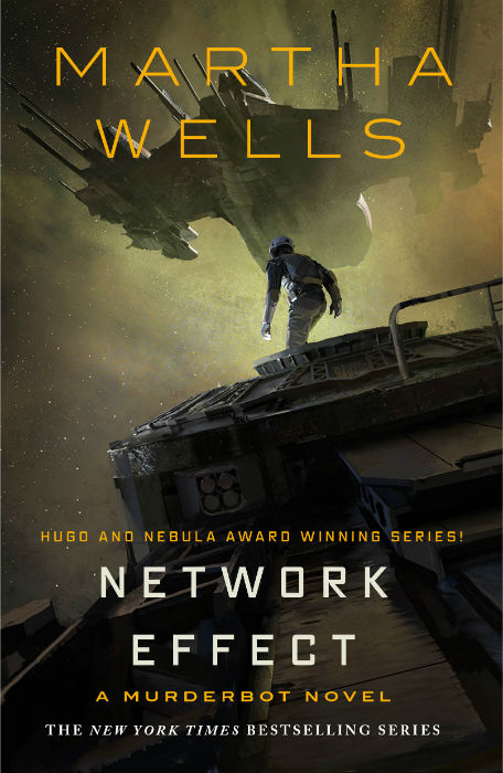 Network Effect (The Murderbot Diaries #5) by Martha Wells book cover