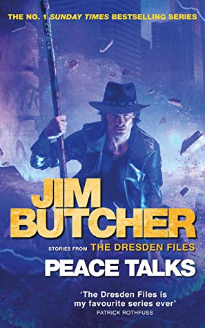Peace Talks (The Dresden Files #16) by Jim Butcher book cover
