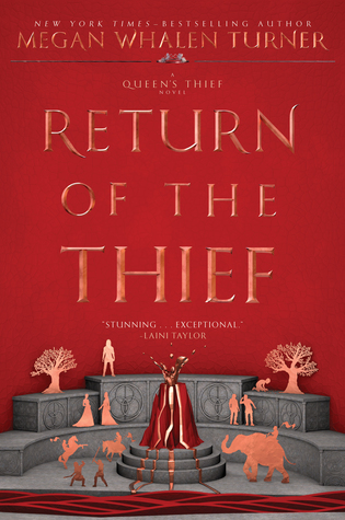 Return of the Thief (The Queen's Thief #6) by Megan Whalen Turner book cover
