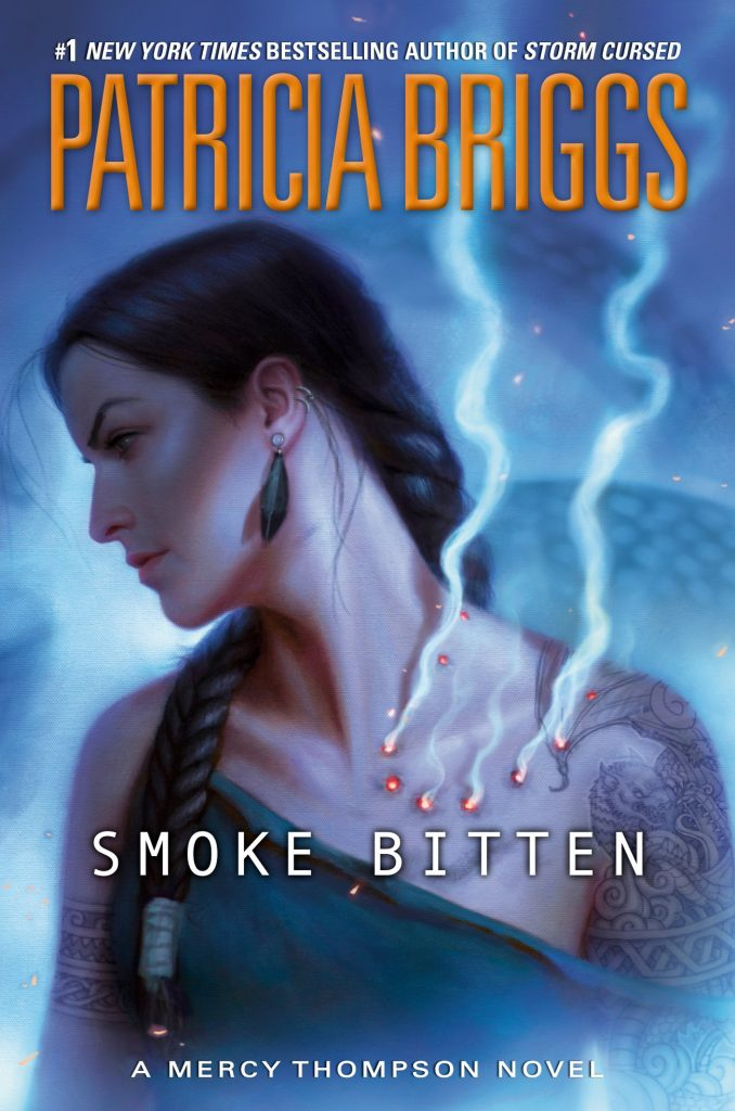 Smoke Bitten by Patricia Briggs book cover