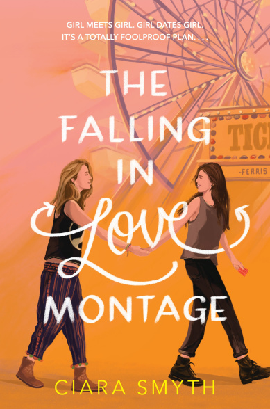 The Falling in Love Montage by Ciara Smyth book cover
