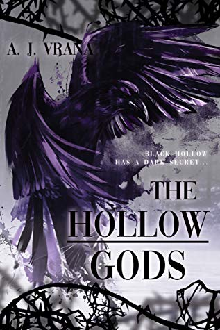 71. The Hollow Gods (The Chaos Cycle Duology #1) by A.J. Vrana book cover