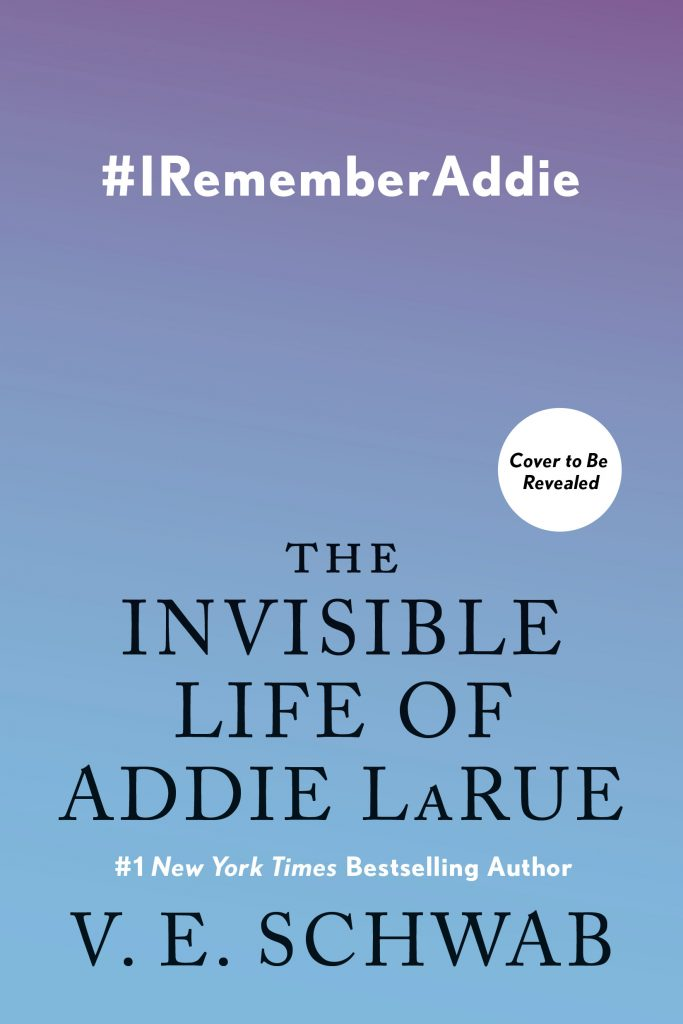 The Invisible Life of Addie LaRue by V.E. Schwab book cover