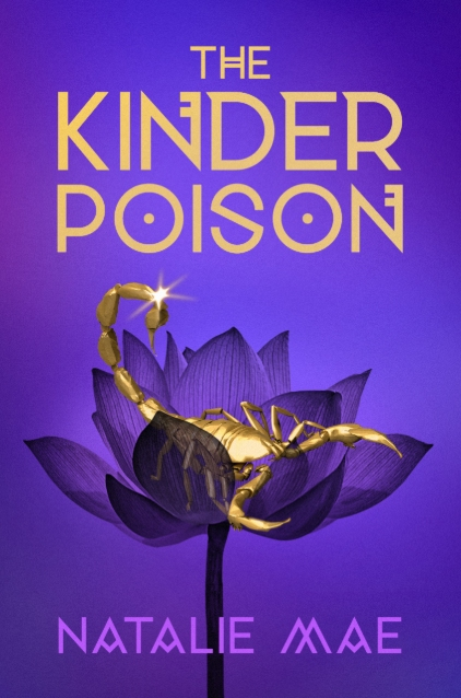The Kinder Poison (The Kinder Poison #1) by Natalie Mae book cover