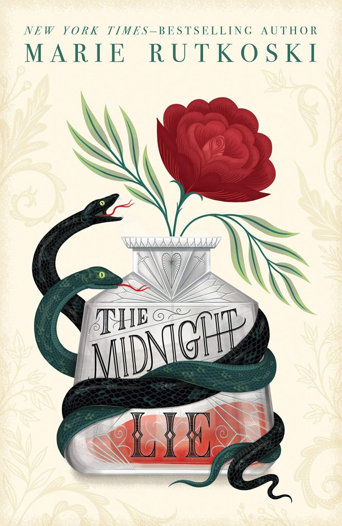The Midnight Lie (The Midnight Lie #1) by Marie Rutkoski book cover