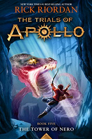 The Tower of Nero (The Trials of Apollo #5) by Rick Riordan book cover