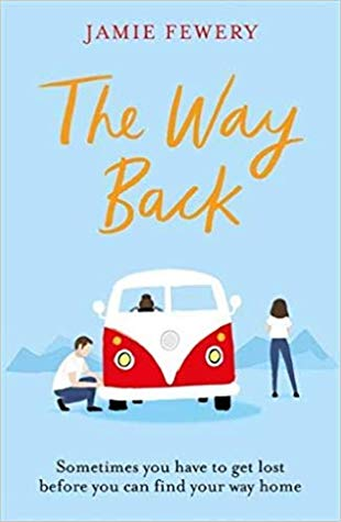 The Way Back by Jamie Fewery book cover