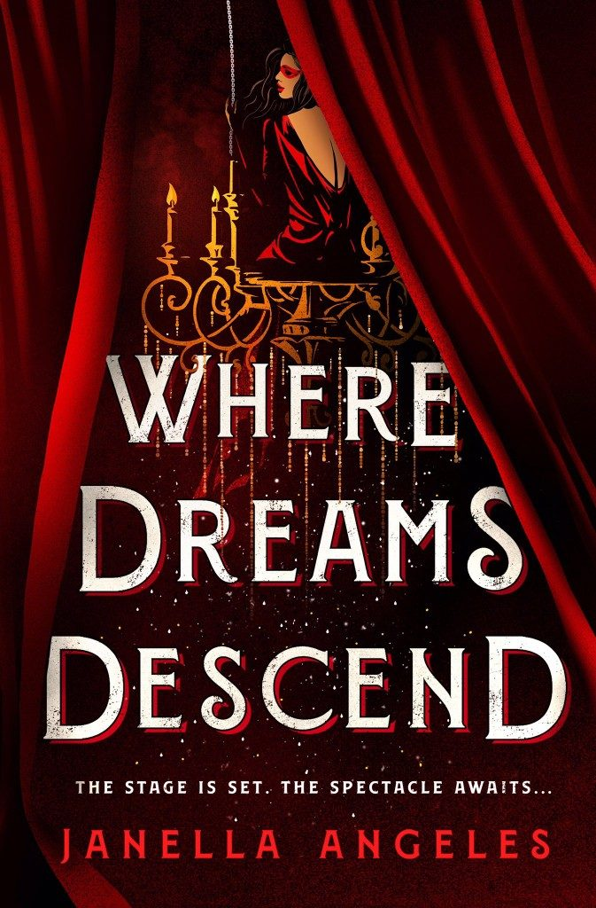 Where Dreams Descend (Kingdom of Cards #1) by Janella Angeles book cover