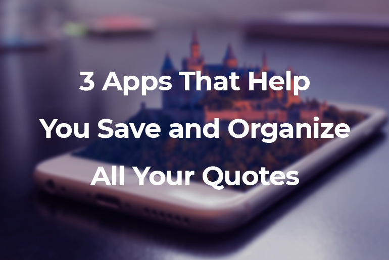 best apps to save quotes