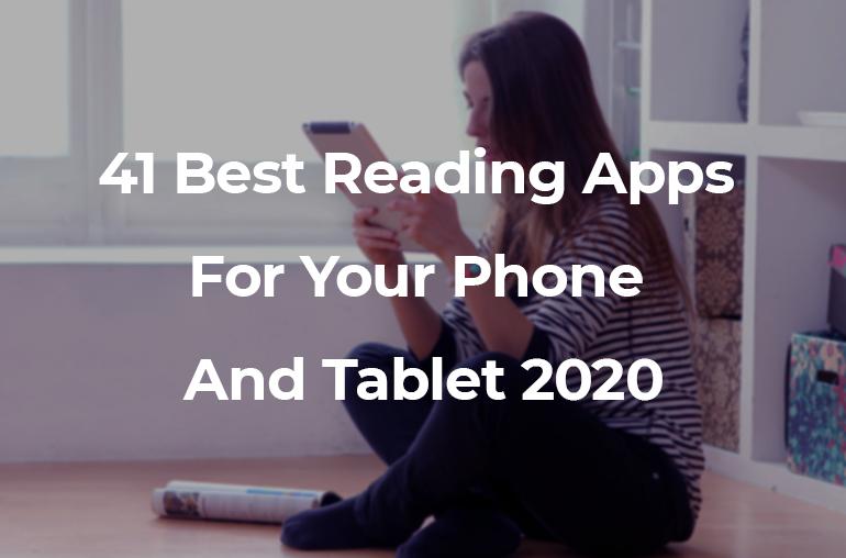 best reading apps 2020