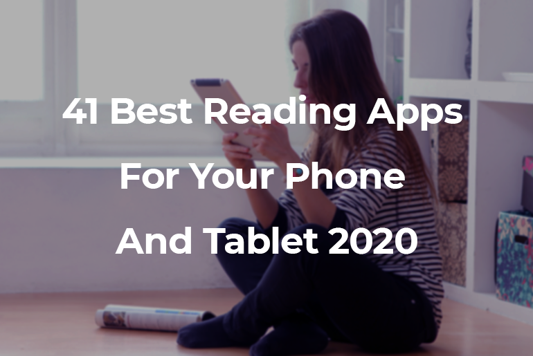 best reading apps 2020