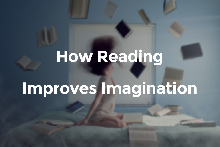 reading improves imagination